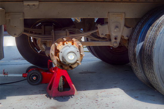 Heavy Duty Trailer Service and Repair